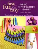 Fabric Cover-Button Jewelry